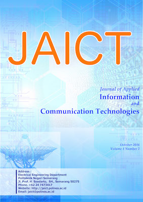 JAICT Vol. 1 No. 2 October 2016